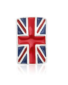 Titanium Enamel Union Jack Body Bar