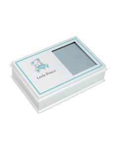Base Metal Blue Little Prince Photo Frame Box Giftwear