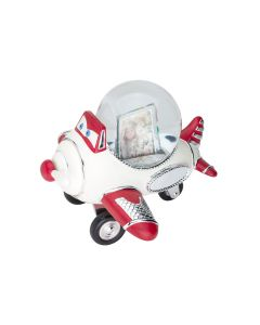 Airplane  Photo Frame Water Globe Music Box Giftwear
