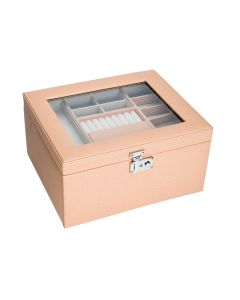 Peach Colour Jewellery Box Girftwear