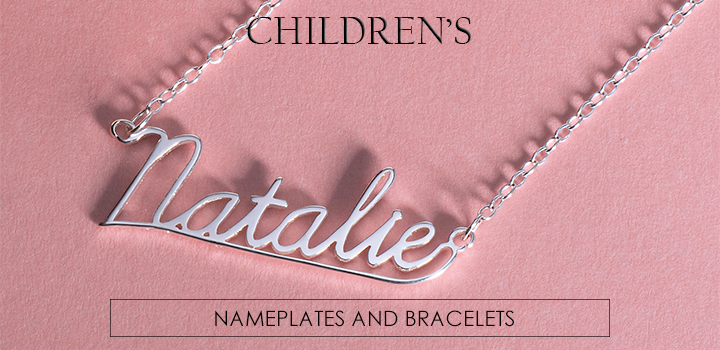 Children's name necklace.